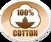 <b> Cotton 100% :</b>  Výrobok vyrobený z čistej bavlny.<br/> --------------------------------------------------------------<br/> Bavlna môže byť spracovaná rôznym spôsobom.<br/> Môže byť točená, nepočesaná, počesaná, z jednej strany zdrsnená...<br/> Môže obsahovať rôzne hrúbky a dĺžky vlákien.<br/> --------------------------------------------------------------<br/> <b>Vždy ale zostáva 100% prírodný produkt !</b>