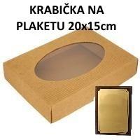 Krabička na plaketu 20x15