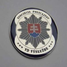 Odznak kovový APVV - okrúhly