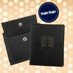 Peňaženka A koža - znak SR