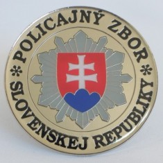 Odznak kovový 2D PZ