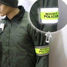 Reflexný pás na rukáv MP