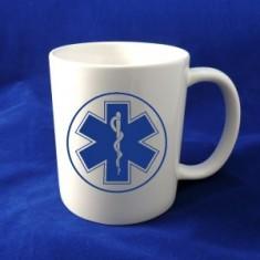Šálka ZS modré logo