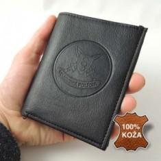 Peňaženka razená koža VOP