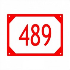 Popisné číslo 20x15