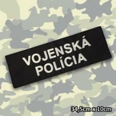 VOJENSKÁ POLÍCIA náš. chrbát