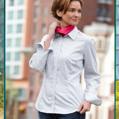 Ladies' Long-Sleeved Blouse