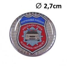 SET 2ks Nálepka Ø2,6cm ŽIV