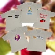 Detské biele tričko