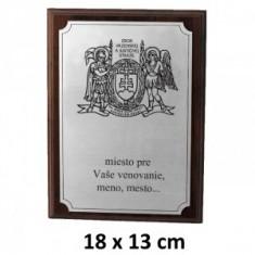 ZVJS plaketa 18x13cm