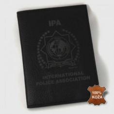 Peňaženka gravír INT koža