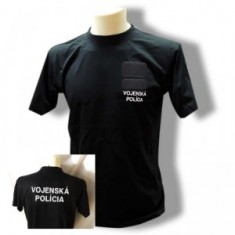 Tričko 2x výšivka VOP