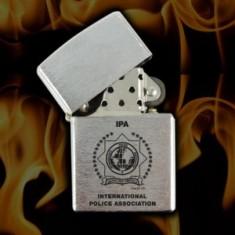 IPA Zapaľovač kovový matný