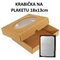 Krabička na plaketu 18x13