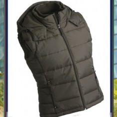 Men`s Padded Vest Hooded