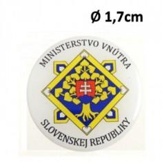 Nálepka Ø1,7cm ŽIV MV