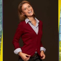 Dámsky sveter na gombíky