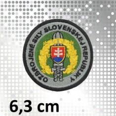 Nášivka OSSR - čierny lem