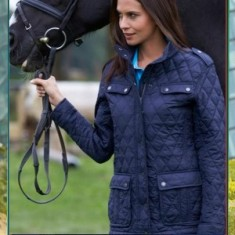 Ladies' Diamond Quilted Jack