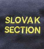 Nápis Slovak Section