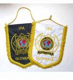 Vlajka veľká výšivka SLS+SR