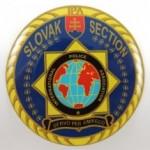 Nálepka Ø6cm ŽIV SLS